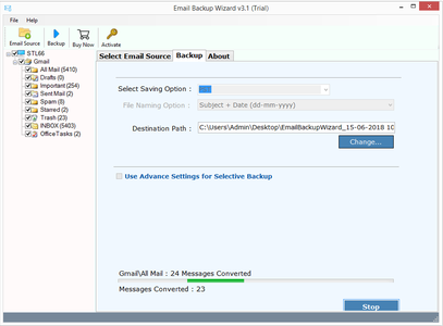 ZOOK Email Backup Wizard 6.7