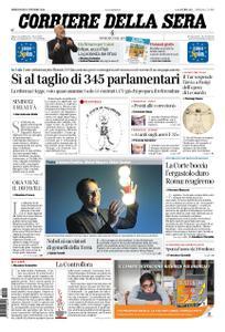 Corriere della Sera – 09 ottobre 2019