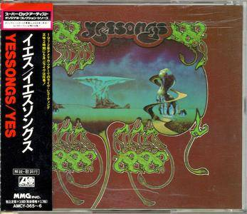 Yes - Yessongs (1973) [1992, Japan, AMCY-365~6]
