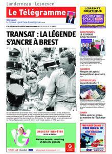 Le Télégramme Landerneau - Lesneven – 22 mai 2019
