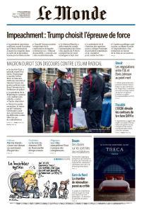 Le Monde du Jeudi 10 Octobre 2019