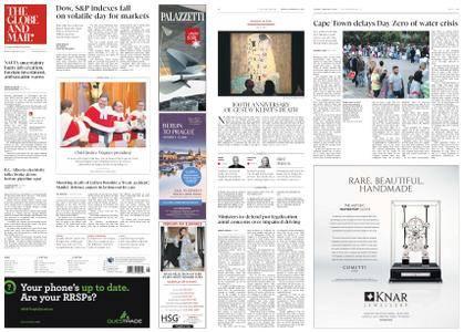 The Globe and Mail – February 06, 2018