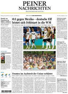 Peiner Nachrichten - 18. Juni 2018