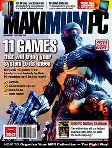 Maximum PC October 2007