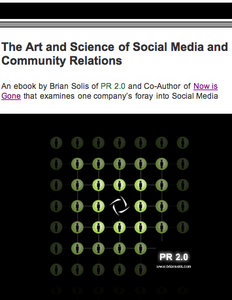 The Art and Science of Social Media and Community Relations