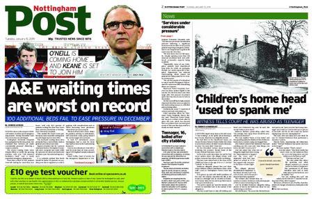 Nottingham Post – January 15, 2019