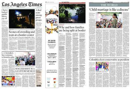 Los Angeles Times – June 18, 2018