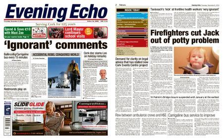 Evening Echo – November 08, 2018