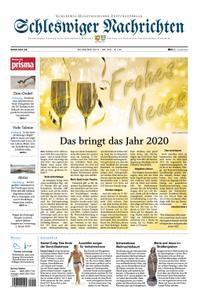 Schleswiger Nachrichten - 31. Dezember 2019