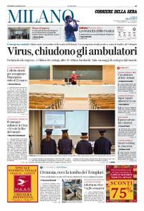 Corriere della Sera Milano – 06 marzo 2020