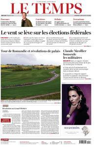 Le Temps - 03 mai 2019