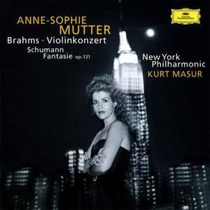 Anne-Sophie Mutter - Brahms: Violinkonzert, Schumann: Fantasie Op.131 (1997)