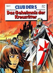 Club der 5 03 - Das Geheimnis der Kreuzritter Comic