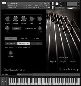 SonicCouture GuZheng v2.0.0 KONTAKT
