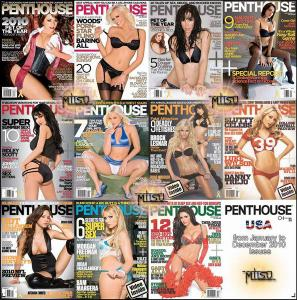 Penthouse USA - Full Year 2010 Issues Collection