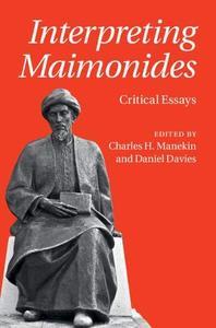 Interpreting Maimonides: Critical Essays