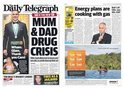 The Daily Telegraph (Sydney) – September 28, 2017