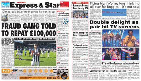 Express and Star Sandwell Edition – May 07, 2018