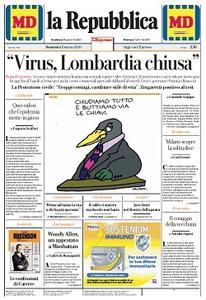 la Repubblica - 8 Marzo 2020