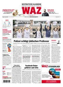 WAZ Westdeutsche Allgemeine Zeitung Oberhausen-Sterkrade - 13. Juli 2018
