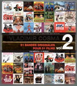Vladimir Cosma Volume 2: 51 Bandes Originales Pour 51 Films (17CD Box Set, 2010)