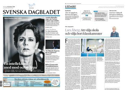 Svenska Dagbladet – 13 oktober 2019