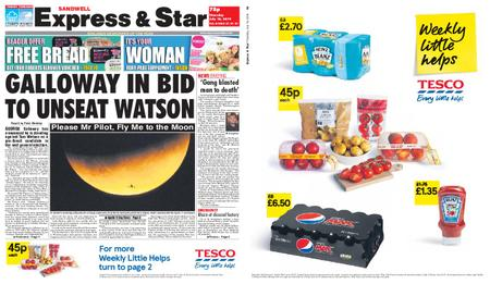Express and Star Sandwell Edition – July 18, 2019