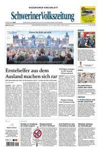 Schweriner Volkszeitung Hagenower Kreisblatt - 14. Juli 2018