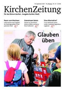 KirchenZeitung für das Bistum Aachen – 19. September 2021