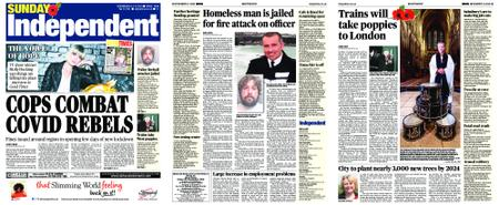 Sunday Independent Bristol Yeovil and Somerset – November 08, 2020