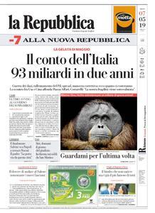 la Repubblica – 07 maggio 2019