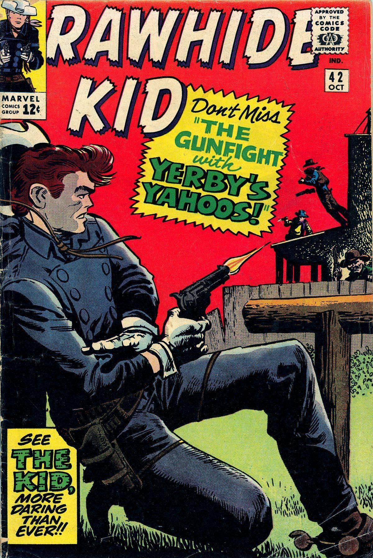 Rawhide Kid v1 042 1964 Punkrat