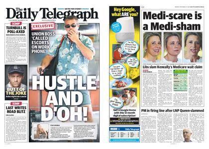 The Daily Telegraph (Sydney) – November 27, 2017