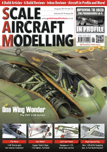 Scale Aircraft Modelling - August 2019