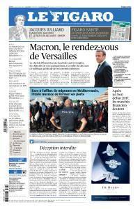 Le Figaro du Lundi 3 Juillet 2017