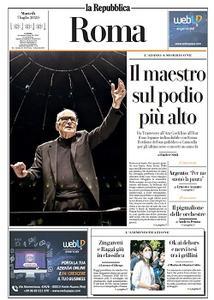 la Repubblica Roma - 7 Luglio 2020