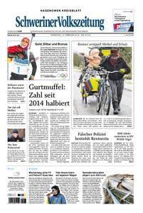 Schweriner Volkszeitung Hagenower Kreisblatt - 13. Februar 2018