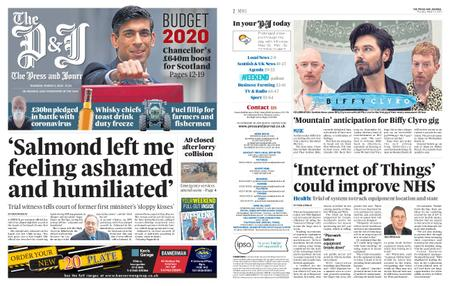 The Press and Journal Moray – March 12, 2020