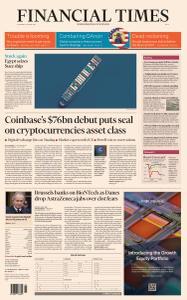 Financial Times Asia - April 15, 2021