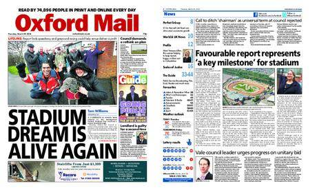Oxford Mail – March 29, 2018