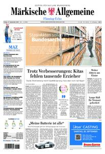 Märkische Allgemeine Fläming Echo - 27. September 2019