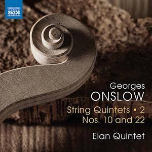 Elan Quintet - Onslow: String Quintets, Vol. 2 - Nos. 10 & 22 (2017)