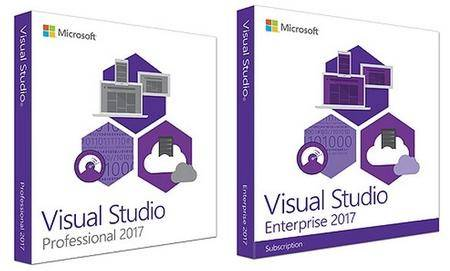 Visual Studio Professional / Enterprise 2017 Multilingual