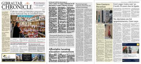 Gibraltar Chronicle – 09 September 2020