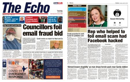Evening Echo – April 28, 2020