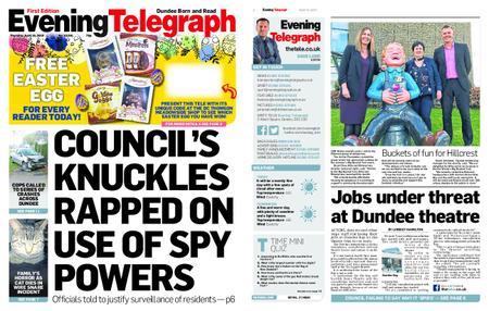 Evening Telegraph First Edition – April 18, 2019