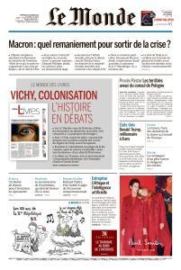 Le Monde du Vendredi 5 Octobre 2018