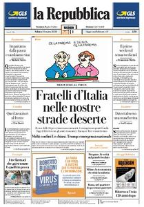 la Repubblica - 14 Marzo 2020