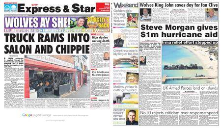Express and Star City Edition – September 09, 2017