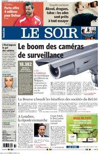 LE SOIR 12 AOUT 2011